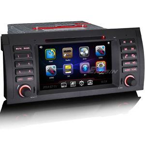 Autoradio CD DVD Player BMW 5 E39 X5 E53 M5 E38 Tactile GPS 3G BT DVR