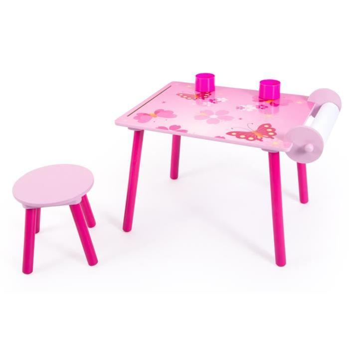 Ensemble table et chaise enfant Rose Achat / Vente table et chaise