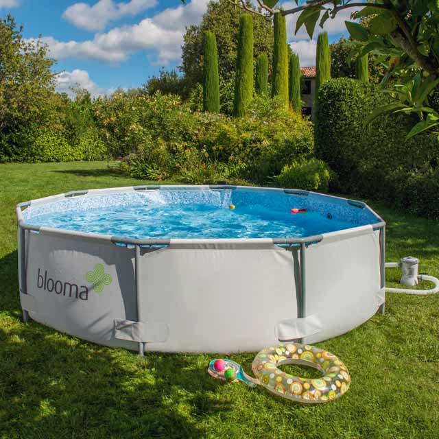 Piscine tubulaire topiwall for Piscine tubulaire intex castorama