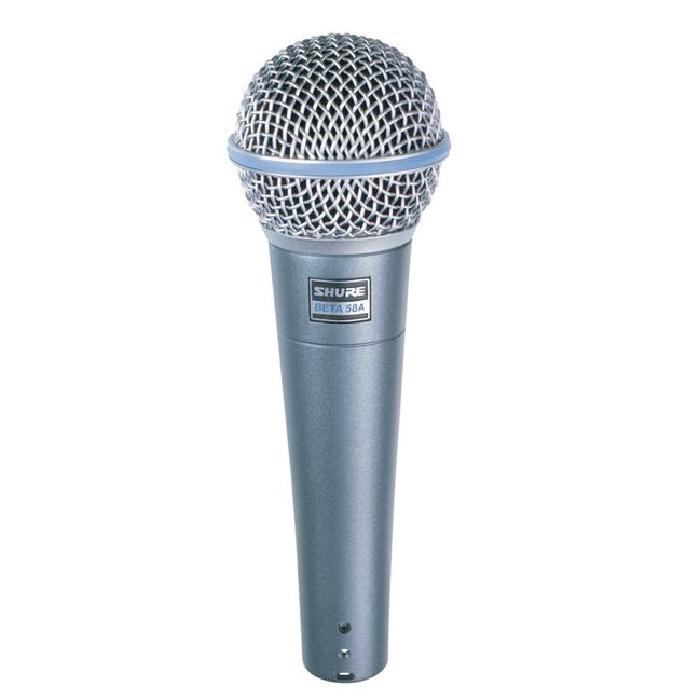 SHURE Micro dynamique BETA58 MICRO CHANT microphone accessoire