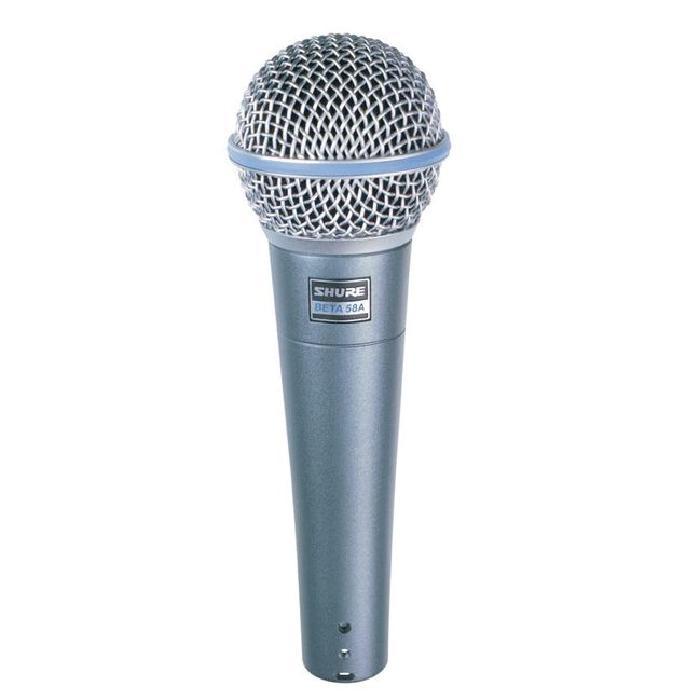 SHURE Micro dynamique BETA58 MICRO CHANT microphone accessoire