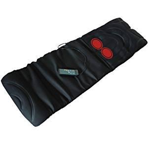 Matelas de massage infrarouge 10 moteurs de vibration chaleur