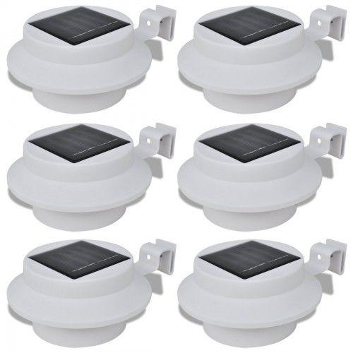 Vimeu Outillage Lampe solaire 3 Led pour clôture / gouttière