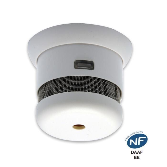 Détecteur de fumée NF 5 ans d'autonomie Achat / Vente détecteur