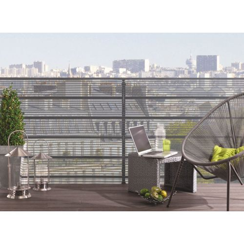 Cloture pvc couleur topiwall for Achat cloture aluminium