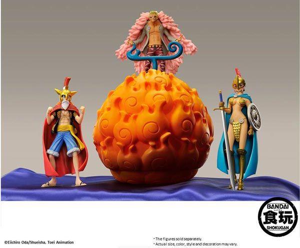 Portgas D. Ace hat von der Feuerfrucht (Mera Mera no Mi) gegessen und