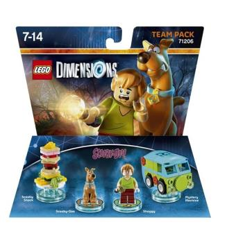 Figurines Lego Dimensions Team Pack Scooby & Shaggy Scooby Doo sur