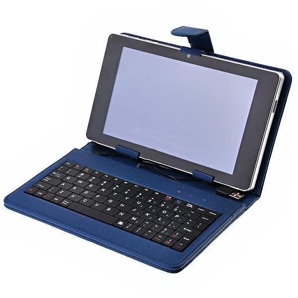 Housse Clavier AZERTY tablette PC 8″ micro USB Achat / Vente coque