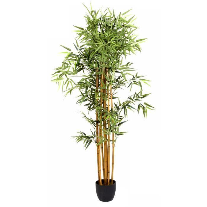 Plante artificielle Bambou Pot, Hauteur 180 cm Plante artificielle