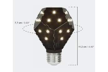 LED Bloom 10W E27 ? marque Nanoleaf ? système exclusif : dimmable