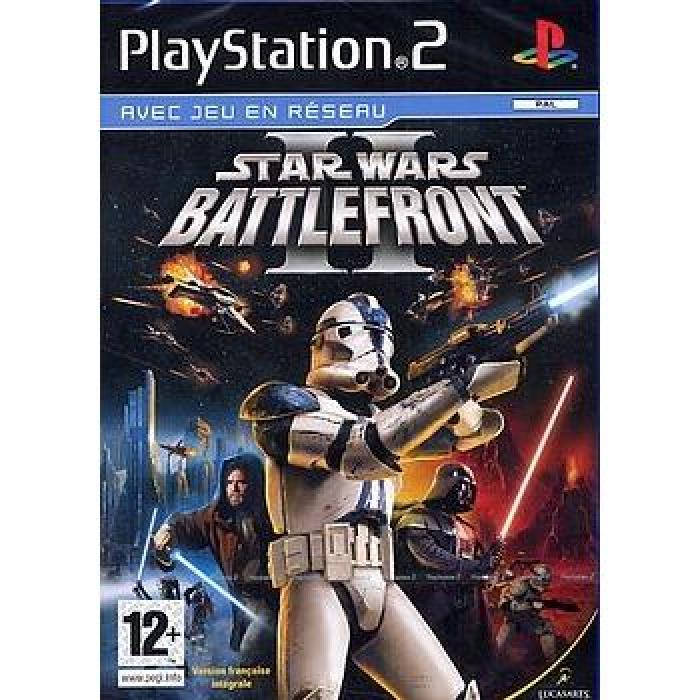 STAR WARS BATTLEFRONT 2 Achat / Vente jeu ps2 STAR WARS BATTLEFRONT