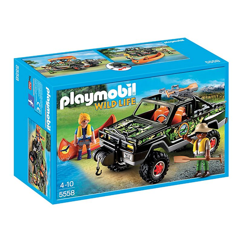 Playmobil 5558 : wild life : pick up des aventuriers Playmobil | La