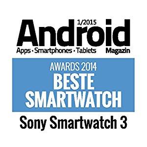 Sony Mobile SWR50MT SmartWatch 3 Montre Fitness et Tracker d'Activité