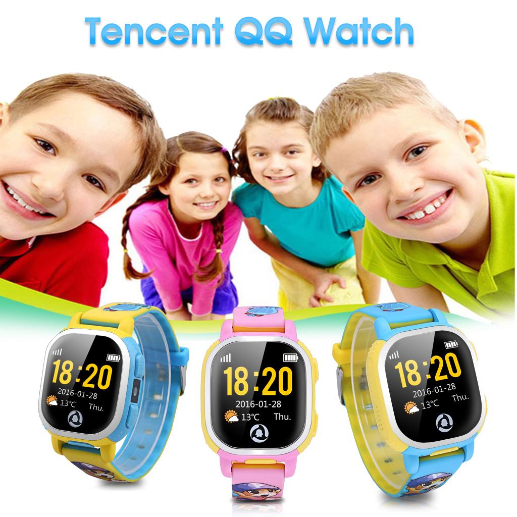 GPS Tracker Smartwatch Kinder Uhr Sportuhr Armbanduhr Wifi Kamera SOS
