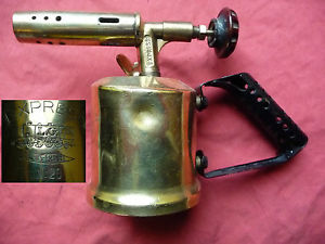 ancienne lampe a souder a essence EXPRESS N 20 UNIS FRANCE outil