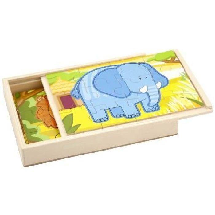 SAPIN MALIN Puzzle Panoramique 4 en 1 La Jungle Achat / Vente puzzle