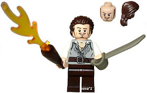 LEGO PIRATES OF THE CARIBBEAN WILL TURNER MINIFIGURE NEW