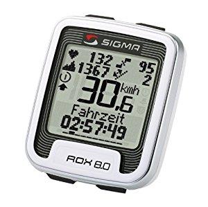 Compteur Cardio Alti Velo Sigma ROX 8,0 Sans fil: Sports et
