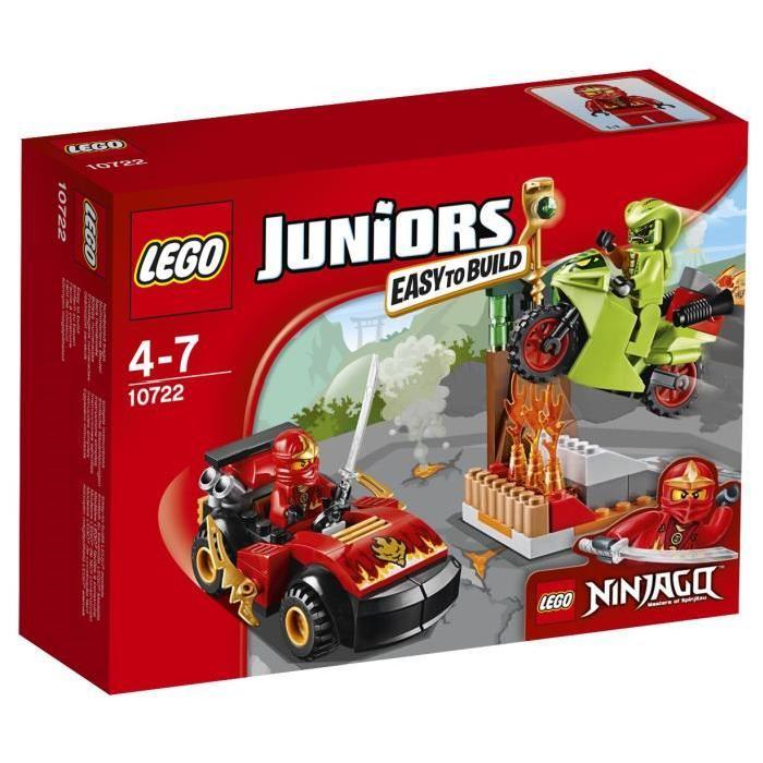 LEGO® Juniors 10722 L'Attaque du Serpent Ninjago 92 pièces Achat