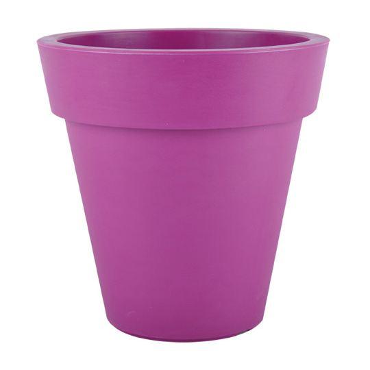 Pot plastique Ø45cm violet 100% recyclable 45×4? Achat