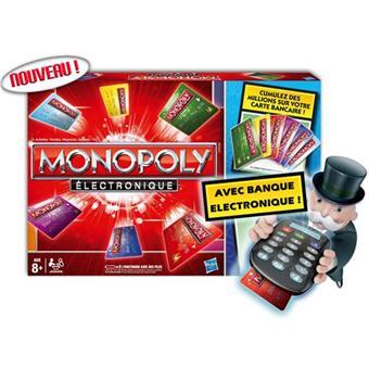 Hasbro Monopoly Electronique Jeu de stratégie Acheter sur Fnac