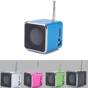 Pc Mini Music Stereo Media Speaker Music Player FM Radio USB Micro