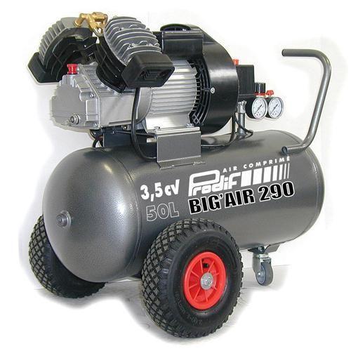 Compresseur coaxial 50l lubrifie 3.5cv PRODIF Achat / Vente