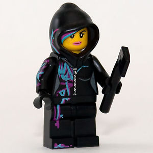 The LEGO Movie: Wyldstyle with hood minifigure 70801 (NEW) TLM049