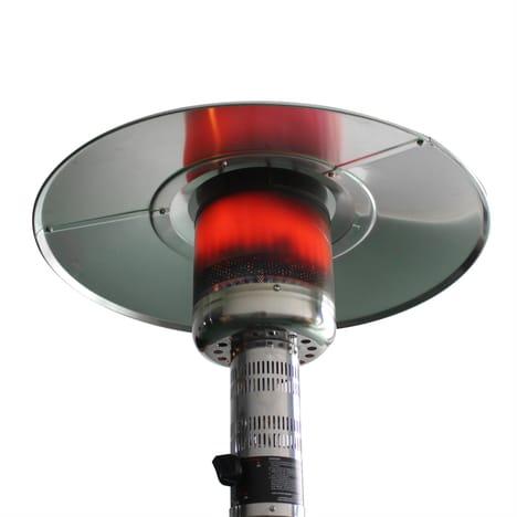 Chauffage d'extérieur à gaz, parasol chauffant de terrasse FINLAND