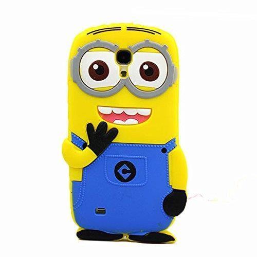 COQUE ETUI HOUSSE MINIONS MIGNON Samsung Galaxy S4 Mini i9190 Achat