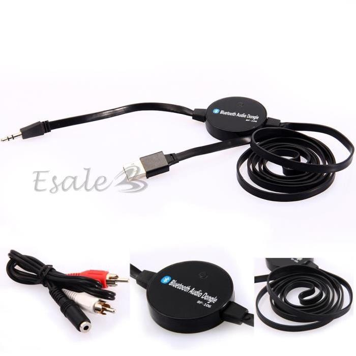 Bluetooth 3.5mm Audio Stéréo HiFi pour PC MP3 TV Portable Emetteur