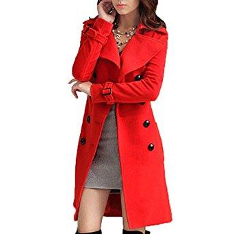 Manteau Veste Caban Femme Veste Outwear Avec Ceinture WF 5274