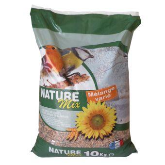 Aimé Nourriture Oiseaux Sauvages Nature Mix 10KG 100238