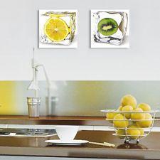 Eurographics DG AU2102 Tableau en verre décoratif Motif kiwi dans un