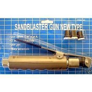 SABLEUSE Pistolet gachette de sablage pour sableuse + 4 bus