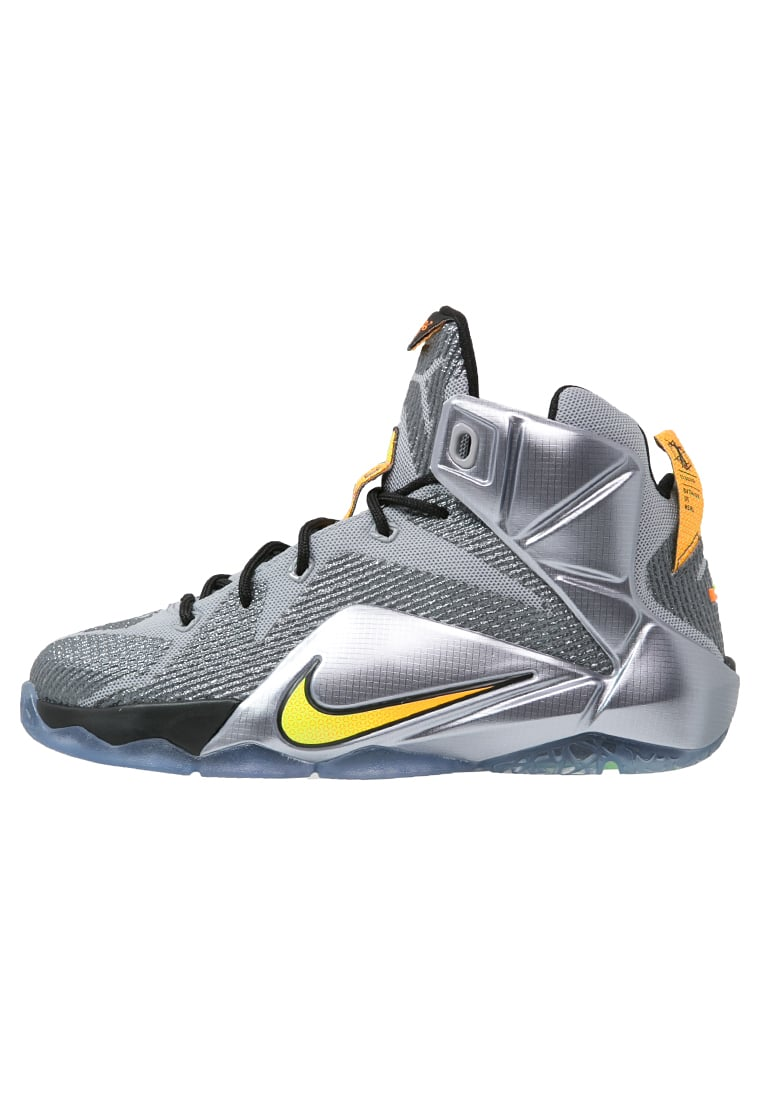 Nike Performance LEBRON XII Chaussures de basket wolf grey/bright