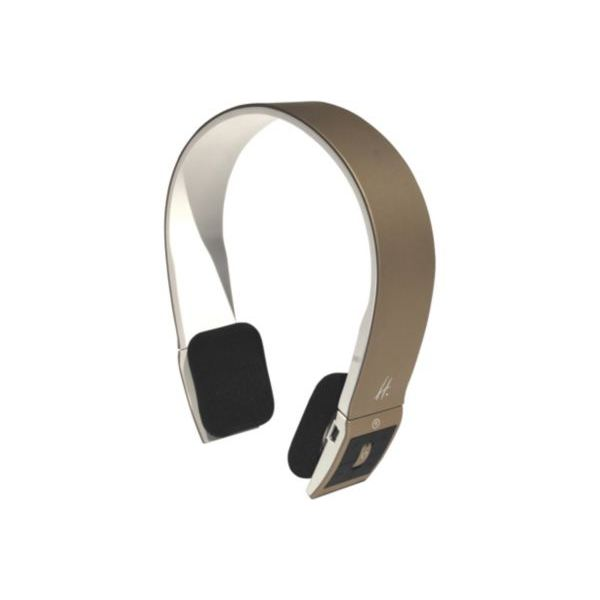 Casque audio HALTERREGO Bluetooth champ/blanc a? casque
