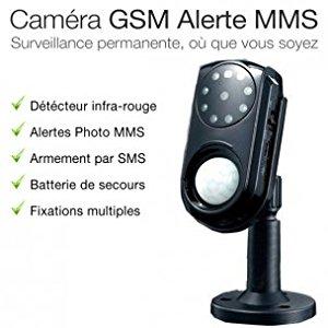 Alarme2Maison Camera GSM de surveillance avec alerte SMS MMS et