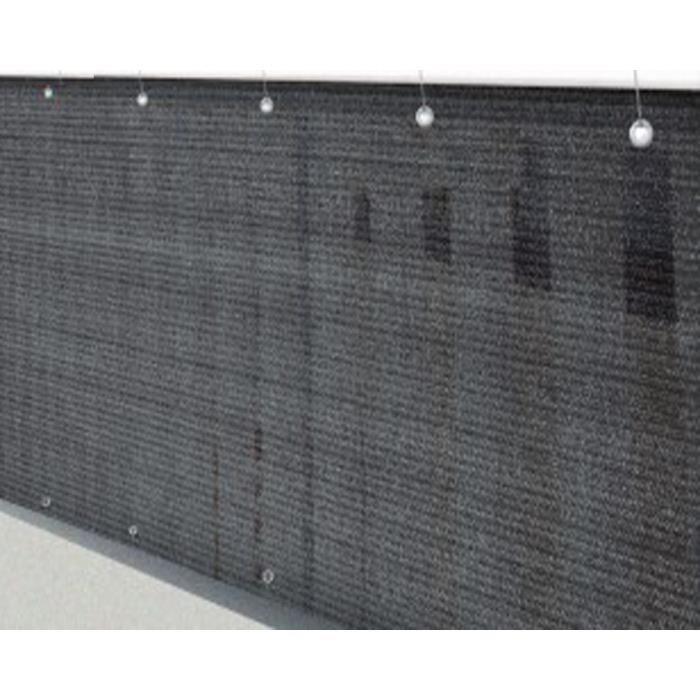 Le brise vue brise vent jardin grillage palissade Ardoise en polyester