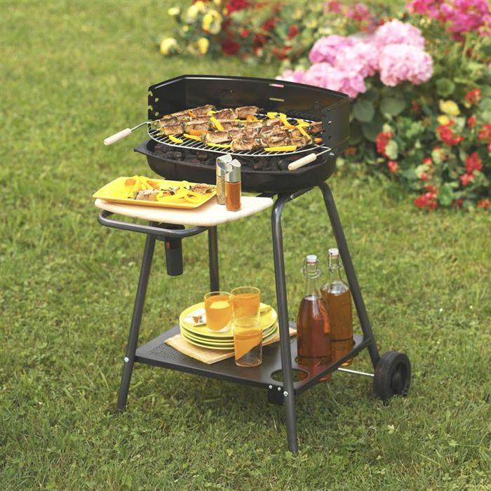 Barbecue charbon de bois « BORNEO » Achat / Vente barbecue Barbecue