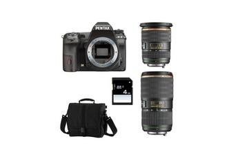 K3 Noir + SMC DA 16 50 f/2.8 SDM + 50 135 + Sac + SD 4 Go Pentax