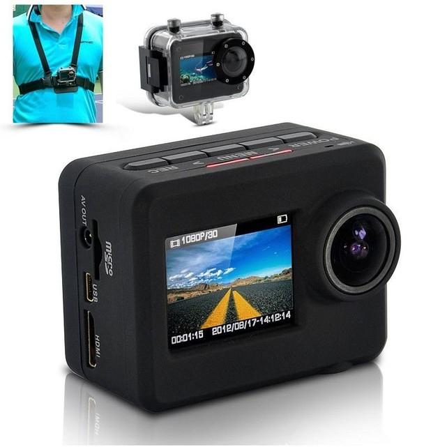 Yonis Caméra plongée camera sport Full HD 1080P étanche 20m