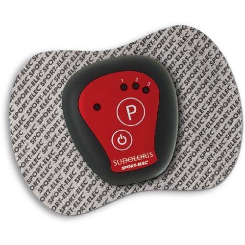 Sportelec Sport Elec Patch neurostimulateur réutilisable Gris/Rouge