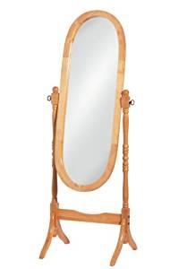 Miroir sur pied topiwall - Miroir ovale sur pied ...