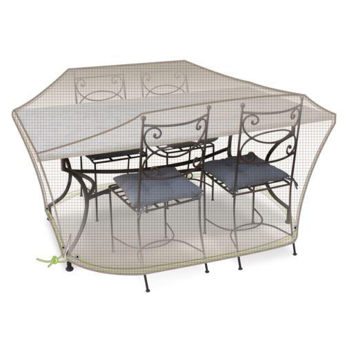 Bache pour table de jardin topiwall - Bache protection table exterieure ...