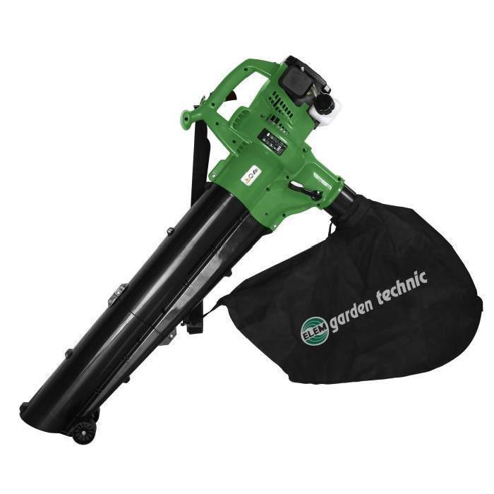 Aspirateur souffleur broyeur de feuilles thermique 30CC 600 m3/h 200