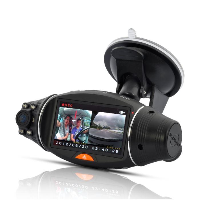 Dashcam caméra DVR pour voiture double caméra a? Achat / Vente