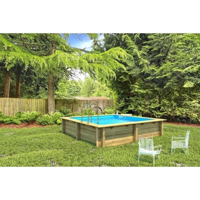 Weva Rectangulaire 3m x 3m x 1.20m Achat / Vente piscine Piscine