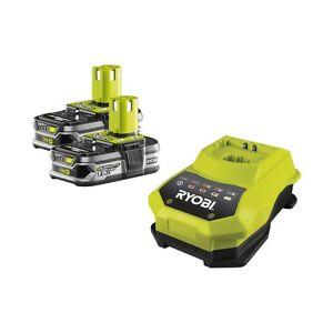 Ryobi RBC18LL15 2x 18V/ 1,5 Ah Lithium Battery and Charger Kit