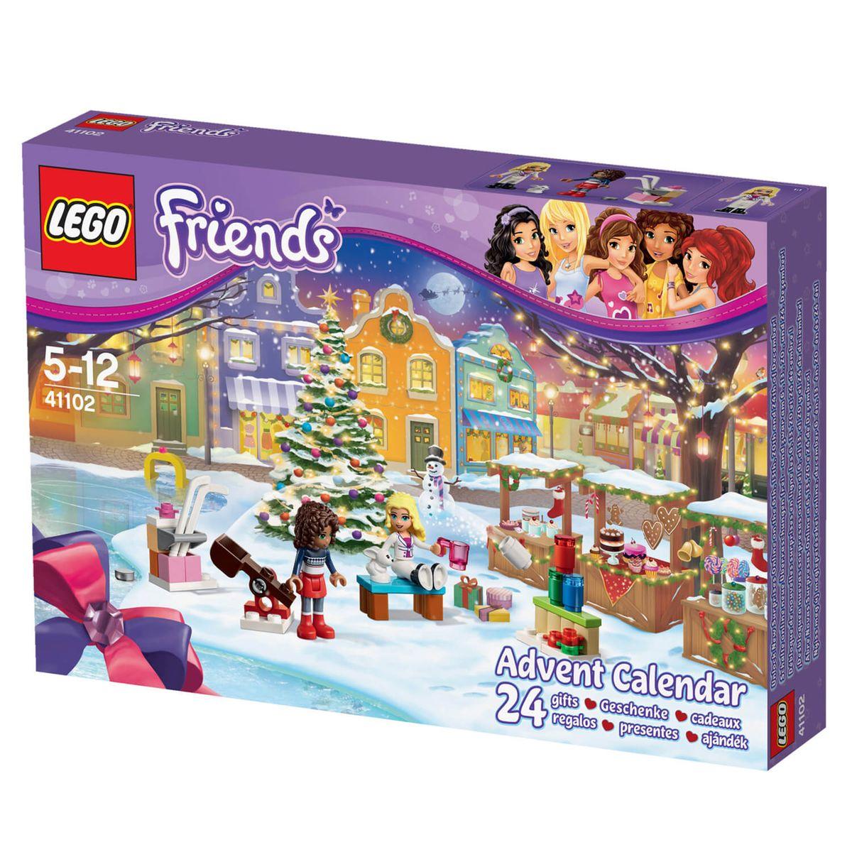 Lego 41102 friends : calendrier de l'avent Lego